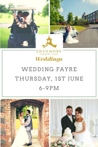 Wedding Fayre Edenmore Country Club