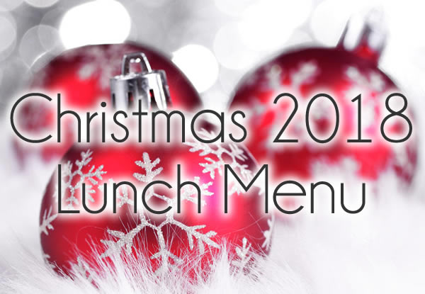 christmas at edenmore lunch menu
